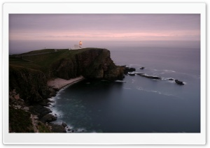 Lighthouse On The Cliff HD Wide Wallpaper for Widescreen