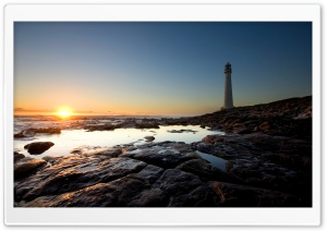 Lighthouse Sea 3 HD Wide Wallpaper for Widescreen