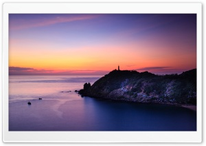 Lighthouse Seascape Ultra HD Wallpaper for 4K UHD Widescreen desktop, tablet & smartphone