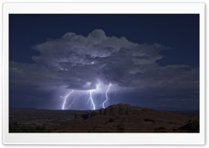 Lightning HD Wide Wallpaper for Widescreen