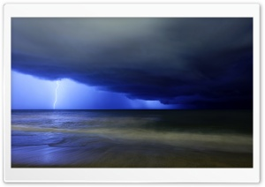Lightning Ultra HD Wallpaper for 4K UHD Widescreen desktop, tablet & smartphone