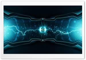 Lightning Cell HD Wide Wallpaper for Widescreen