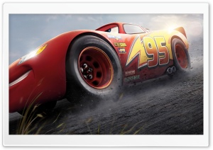 Lightning McQueen Cars 3 Ultra HD Wallpaper for 4K UHD Widescreen desktop, tablet & smartphone