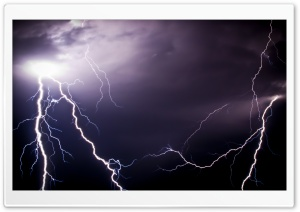Lightnings HD Wide Wallpaper for Widescreen