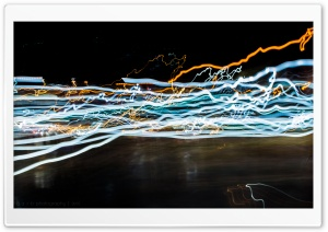 Lights in Motion HD Wide Wallpaper for Widescreen