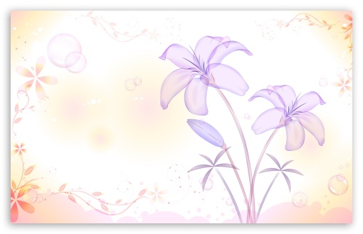 Lilies Illustration HD wallpaper for Wide 16:10 5:3 Widescreen WHXGA WQXGA WUXGA WXGA WGA ; HD 16:9 High Definition WQHD QWXGA 1080p 900p 720p QHD nHD ; Standard 4:3 5:4 3:2 Fullscreen UXGA XGA SVGA QSXGA SXGA DVGA HVGA HQVGA devices ( Apple PowerBook G4 iPhone 4 3G 3GS iPod Touch ) ; Tablet 1:1 ; iPad 1/2/Mini ; Mobile 4:3 5:3 3:2 16:9 5:4 - UXGA XGA SVGA WGA DVGA HVGA HQVGA devices ( Apple PowerBook G4 iPhone 4 3G 3GS iPod Touch ) WQHD QWXGA 1080p 900p 720p QHD nHD QSXGA SXGA ;