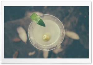 Lime Cocktail HD Wide Wallpaper for 4K UHD Widescreen desktop & smartphone