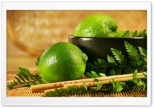 Lime Fruit HD Wide Wallpaper for Widescreen