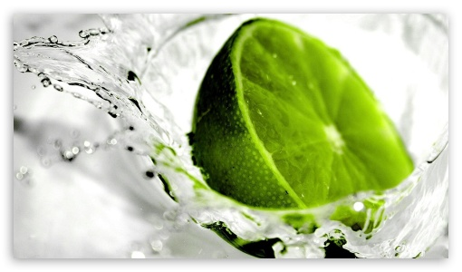 Lime in the water UltraHD Wallpaper for 8K UHD TV 16:9 Ultra High Definition 2160p 1440p 1080p 900p 720p ; Mobile 16:9 - 2160p 1440p 1080p 900p 720p ;
