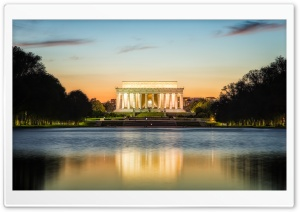 Lincoln Memorial HD Wide Wallpaper for 4K UHD Widescreen desktop & smartphone