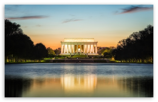 Lincoln Memorial HD desktop wallpaper