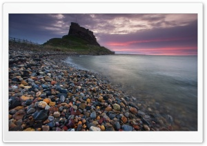 Lindisfarne Castle HD Wide Wallpaper for 4K UHD Widescreen desktop & smartphone