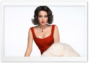Lindsay Lohan As Elizabeth Taylor Movie HD Wide Wallpaper for Widescreen