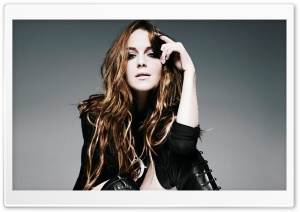 Lindsay Lohan Fashion Style HD Wide Wallpaper for Widescreen