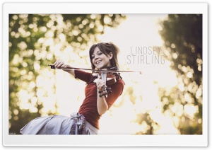 Lindsey Stirling HD Wide Wallpaper for Widescreen