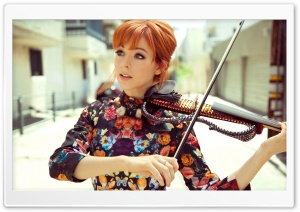 Lindsey Stirling Violin HD Wide Wallpaper for Widescreen