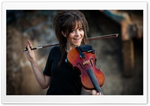 Lindsey Stirling Violinist HD Wide Wallpaper for Widescreen