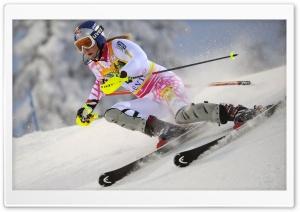 Lindsey Vonn Ski Racer Ultra HD Wallpaper for 4K UHD Widescreen desktop, tablet & smartphone