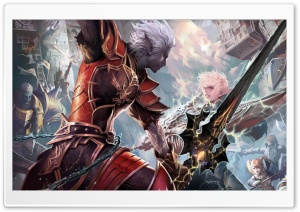 Lineage II   The Chaotic Throne HD Wide Wallpaper for Widescreen