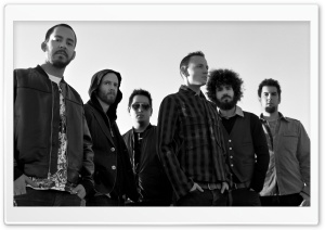 Linkin Park Band HD Wide Wallpaper for Widescreen