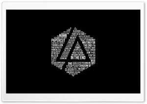 Linkin Park Lyrics HD Wide Wallpaper for 4K UHD Widescreen desktop & smartphone
