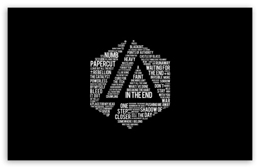 Linkin Park Lyrics 4k Hd Desktop Wallpaper For 4k Ultra