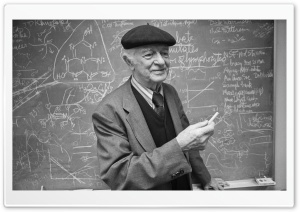 Linus Carl Pauling HD Wide Wallpaper for 4K UHD Widescreen desktop & smartphone