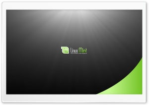 Linux Mint HD Wide Wallpaper for Widescreen