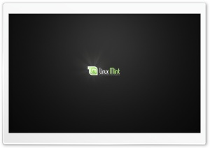Linux Mint Dark HD Wide Wallpaper for Widescreen
