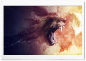 Lion HD Wide Wallpaper for 4K UHD Widescreen desktop & smartphone