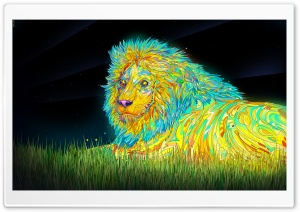 Lion Art HD Wide Wallpaper for 4K UHD Widescreen desktop & smartphone