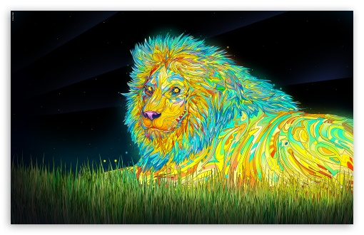 Lion Art HD wallpaper for Wide 16:10 5:3 Widescreen WHXGA WQXGA WUXGA WXGA WGA ; HD 16:9 High Definition WQHD QWXGA 1080p 900p 720p QHD nHD ; Standard 4:3 3:2 Fullscreen UXGA XGA SVGA DVGA HVGA HQVGA devices ( Apple PowerBook G4 iPhone 4 3G 3GS iPod Touch ) ; iPad 1/2/Mini ; Mobile 4:3 5:3 3:2 16:9 - UXGA XGA SVGA WGA DVGA HVGA HQVGA devices ( Apple PowerBook G4 iPhone 4 3G 3GS iPod Touch ) WQHD QWXGA 1080p 900p 720p QHD nHD ;