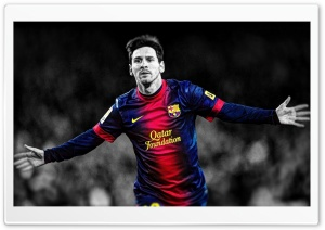 Lionel Messi HD Wide Wallpaper for 4K UHD Widescreen desktop & smartphone