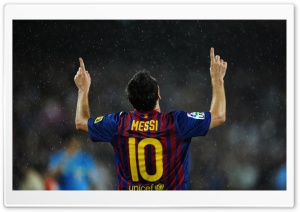 Lionel Messi 2012 HD Wide Wallpaper for Widescreen