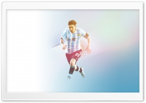 Lionel Messi - Argentina HD Wide Wallpaper for Widescreen