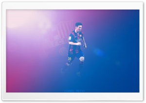 Lionel Messi - Barcelona HD Wide Wallpaper for Widescreen