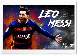 Lionel Messi Barcelona Wallpaper - 2016 HD Wide Wallpaper for Widescreen