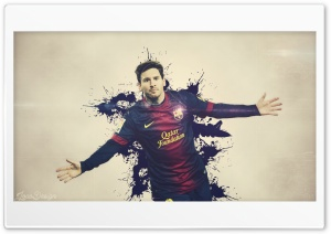 Lionel Messi By JoaoDesign HD Wide Wallpaper for Widescreen