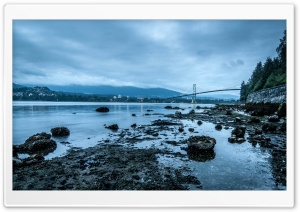 Lions Gate Bridge HD Wide Wallpaper for Widescreen