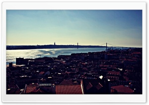 Lisbon, Portugal HD Wide Wallpaper for Widescreen