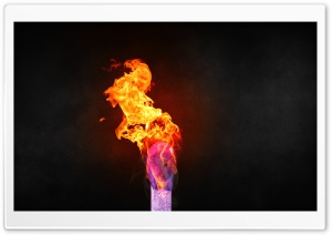 Lit Matchstick HD Wide Wallpaper for Widescreen