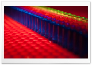 Lite Brite Bokeh HD Wide Wallpaper for Widescreen