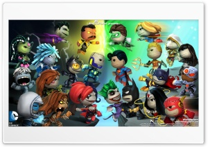 Little Big Planet HD Wide Wallpaper for Widescreen