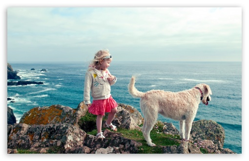 Little Girl And Her Dog HD wallpaper for Wide 16:10 5:3 Widescreen WHXGA WQXGA WUXGA WXGA WGA ; HD 16:9 High Definition WQHD QWXGA 1080p 900p 720p QHD nHD ; Standard 4:3 5:4 3:2 Fullscreen UXGA XGA SVGA QSXGA SXGA DVGA HVGA HQVGA devices ( Apple PowerBook G4 iPhone 4 3G 3GS iPod Touch ) ; Tablet 1:1 ; iPad 1/2/Mini ; Mobile 4:3 5:3 3:2 16:9 5:4 - UXGA XGA SVGA WGA DVGA HVGA HQVGA devices ( Apple PowerBook G4 iPhone 4 3G 3GS iPod Touch ) WQHD QWXGA 1080p 900p 720p QHD nHD QSXGA SXGA ;