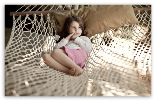 Little Girl In Hammock HD wallpaper for Wide 16:10 5:3 Widescreen WHXGA WQXGA WUXGA WXGA WGA ; HD 16:9 High Definition WQHD QWXGA 1080p 900p 720p QHD nHD ; Standard 4:3 5:4 3:2 Fullscreen UXGA XGA SVGA QSXGA SXGA DVGA HVGA HQVGA devices ( Apple PowerBook G4 iPhone 4 3G 3GS iPod Touch ) ; Tablet 1:1 ; iPad 1/2/Mini ; Mobile 4:3 5:3 3:2 16:9 5:4 - UXGA XGA SVGA WGA DVGA HVGA HQVGA devices ( Apple PowerBook G4 iPhone 4 3G 3GS iPod Touch ) WQHD QWXGA 1080p 900p 720p QHD nHD QSXGA SXGA ;