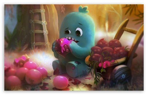 Little Monster Eating Sweet Fruits Illustration ❤ 4K UHD Wallpaper for Wide 16:10 5:3 Widescreen WHXGA WQXGA WUXGA WXGA WGA ; 4K UHD 16:9 Ultra High Definition 2160p 1440p 1080p 900p 720p ; UHD 16:9 2160p 1440p 1080p 900p 720p ; Standard 4:3 5:4 3:2 Fullscreen UXGA XGA SVGA QSXGA SXGA DVGA HVGA HQVGA ( Apple PowerBook G4 iPhone 4 3G 3GS iPod Touch ) ; Smartphone 16:9 3:2 5:3 2160p 1440p 1080p 900p 720p DVGA HVGA HQVGA ( Apple PowerBook G4 iPhone 4 3G 3GS iPod Touch ) WGA ; Tablet 1:1 ; iPad 1/2/Mini ; Mobile 4:3 5:3 3:2 16:9 5:4 - UXGA XGA SVGA WGA DVGA HVGA HQVGA ( Apple PowerBook G4 iPhone 4 3G 3GS iPod Touch ) 2160p 1440p 1080p 900p 720p QSXGA SXGA ;