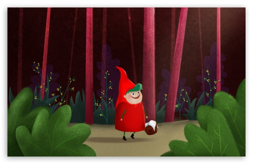 Little Red Riding Hood Illustration HD wallpaper for Wide 16:10 5:3 Widescreen WHXGA WQXGA WUXGA WXGA WGA ; HD 16:9 High Definition WQHD QWXGA 1080p 900p 720p QHD nHD ; Standard 4:3 5:4 3:2 Fullscreen UXGA XGA SVGA QSXGA SXGA DVGA HVGA HQVGA devices ( Apple PowerBook G4 iPhone 4 3G 3GS iPod Touch ) ; Tablet 1:1 ; iPad 1/2/Mini ; Mobile 4:3 5:3 3:2 16:9 5:4 - UXGA XGA SVGA WGA DVGA HVGA HQVGA devices ( Apple PowerBook G4 iPhone 4 3G 3GS iPod Touch ) WQHD QWXGA 1080p 900p 720p QHD nHD QSXGA SXGA ;