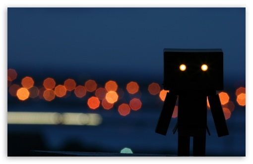 Little Robot Enjoying A Night Out HD wallpaper for Wide 16:10 5:3 Widescreen WHXGA WQXGA WUXGA WXGA WGA ; HD 16:9 High Definition WQHD QWXGA 1080p 900p 720p QHD nHD ; Standard 4:3 5:4 3:2 Fullscreen UXGA XGA SVGA QSXGA SXGA DVGA HVGA HQVGA devices ( Apple PowerBook G4 iPhone 4 3G 3GS iPod Touch ) ; iPad 1/2/Mini ; Mobile 4:3 5:3 3:2 16:9 5:4 - UXGA XGA SVGA WGA DVGA HVGA HQVGA devices ( Apple PowerBook G4 iPhone 4 3G 3GS iPod Touch ) WQHD QWXGA 1080p 900p 720p QHD nHD QSXGA SXGA ;
