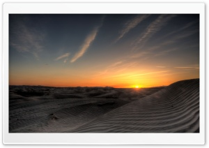 Little Sahara Sunset HD Wide Wallpaper for Widescreen