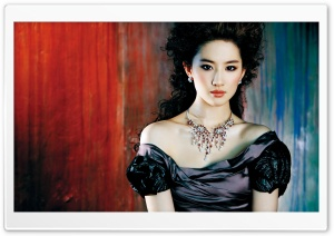 Liu Yifei HD Wide Wallpaper for Widescreen